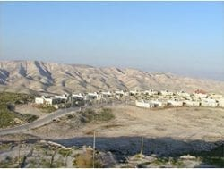 WEST BANK TOWN OF ALON