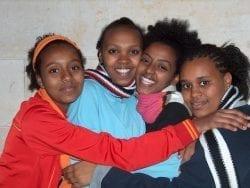 Ethiopian Girls in Kedumim