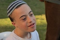 Special needs child at Heart of Benjamin