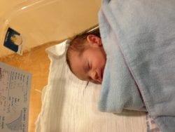Sondra Baras' new Grandson