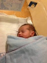 Sondra Baras' First Grandson