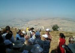 3 Seas Overlook - Gerazim and Ebal