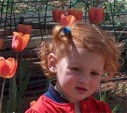 A child in Bet Yatir