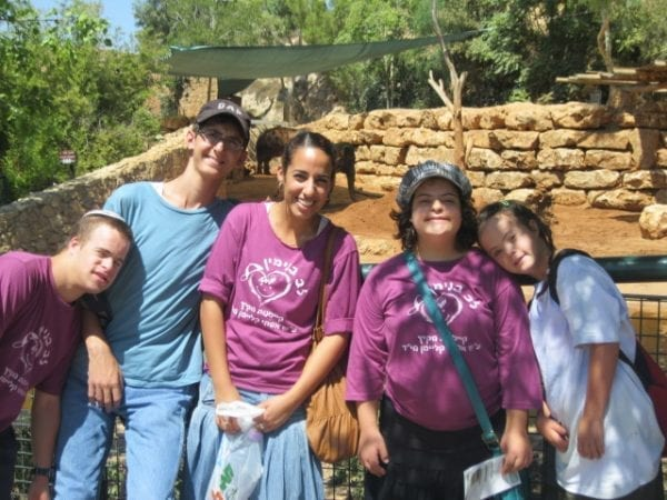 Exploring an archaeological dig during a Heart of Benjamin Passover Camp