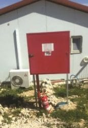 Firefighting equipment in Sde Boaz