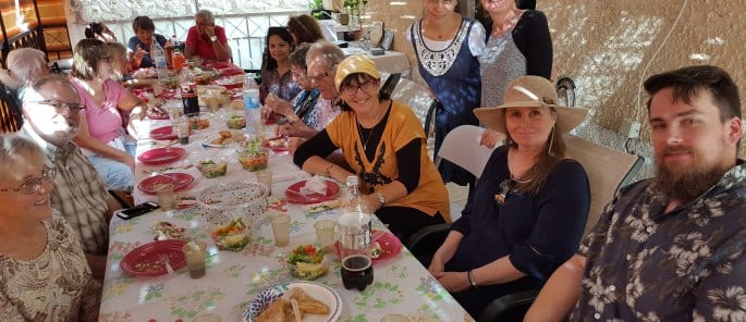 Feast Tour Sondra Baras Sukkah