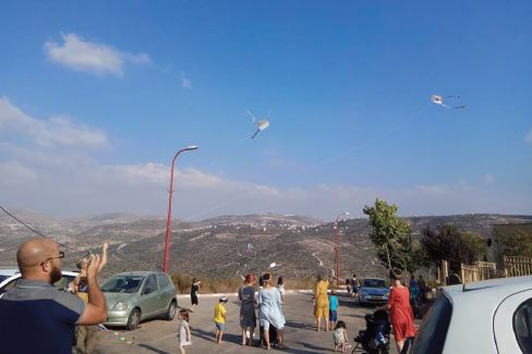 Parents and children enjoy quality time in Nofei Nechemia