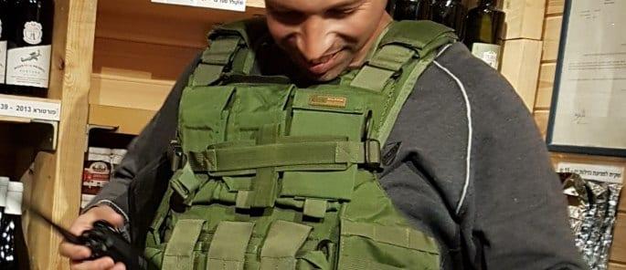 Rechalim head of security