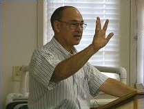 Tom Bradford teaches Torah in Merritt Island FL