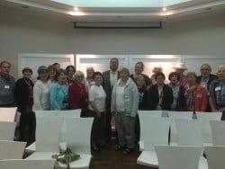 Yehuda Glick meets CFOIC tour group