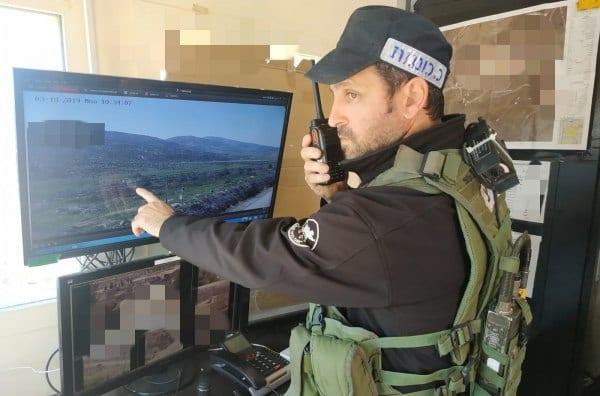 Head of Security in Rechalim, Israel