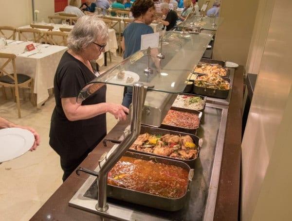 Israeli Dinner Buffet