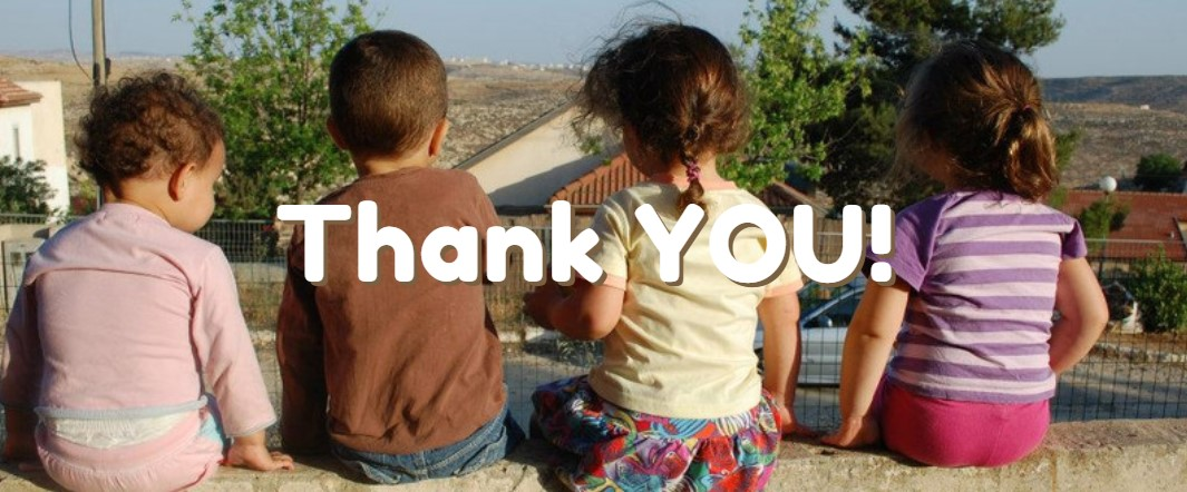 thank you with kids