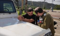 Volunteer rapid responders in Judea and Samaria take their responsibilities very seriously. The equipment that you have donated helps them in their duties every day.