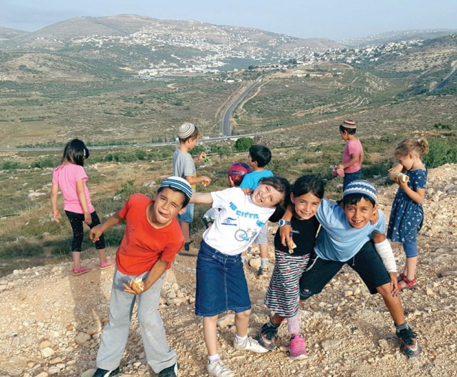 children in samaria
