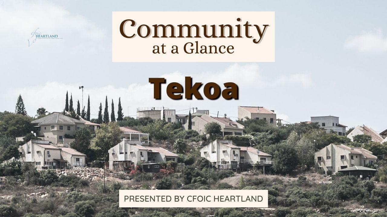 Community @ Glance Tekoa Round I